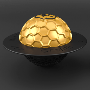 Gemini Hookah Gold Bowl