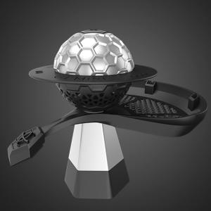 Gemini Hookah Standard Silver Bowl