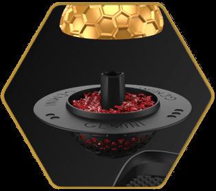 Gemini Hookah Bowls