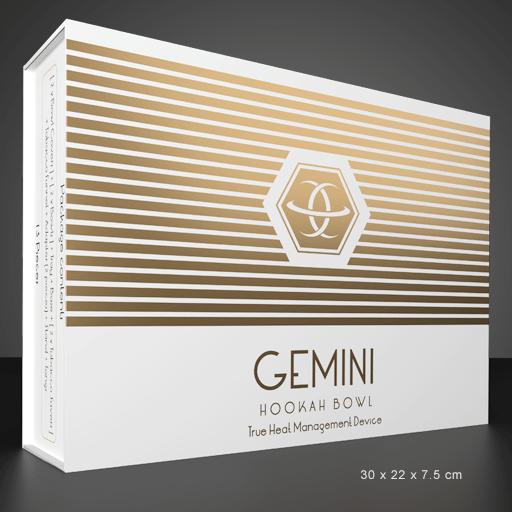 Gemini Hookah Bowl Extended Package
