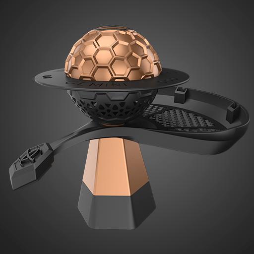 Gemini Hookah Bronze Bowl
