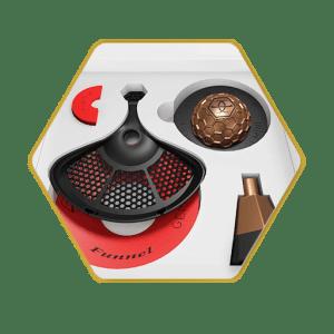 Gemini Hookah Bowl Bronze Standard Package