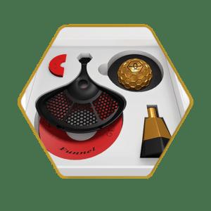 Gemini Hookah Bowl Gold Standard Package
