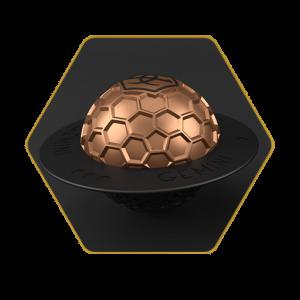 Gemini Bronze Bowl Cover