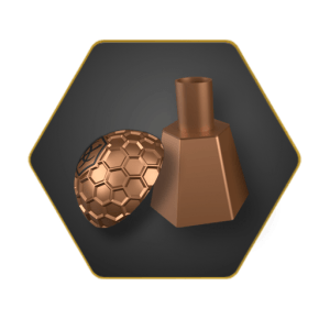 Hookah Bronze Bowl Cover