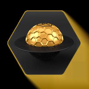 Gemini Gold Bowl Cover