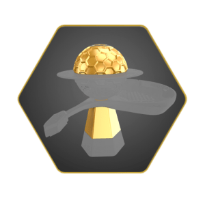 Gemini Golden Hookah Bowl
