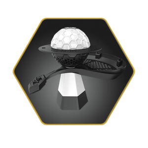 Gemini Hookah Bowl White Basic Package